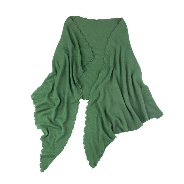 Poncho, grün