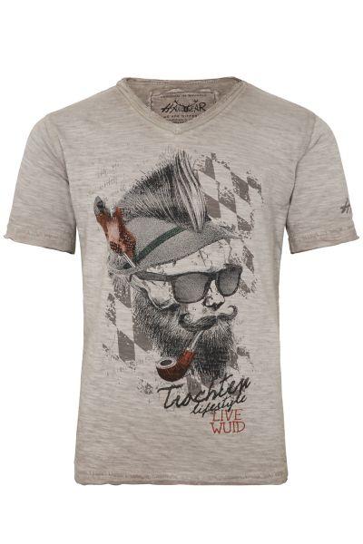 T-Shirt Franzl , beige
