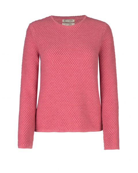 Gottseidank, Damen Pullover, erdbeer