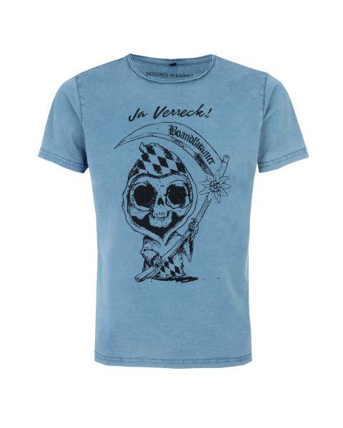 T-Shirt Kai, blau