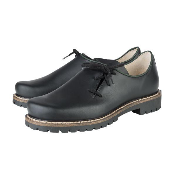 Schuh Aussee, schwarz
