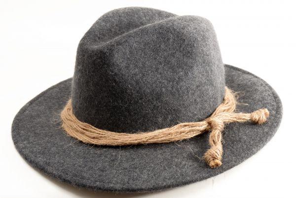 Kübl Hüte, Herren Trachtenhut Outlander, anthrazit