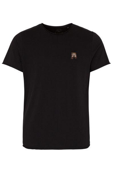 T-Shirt Hippo, schwarz