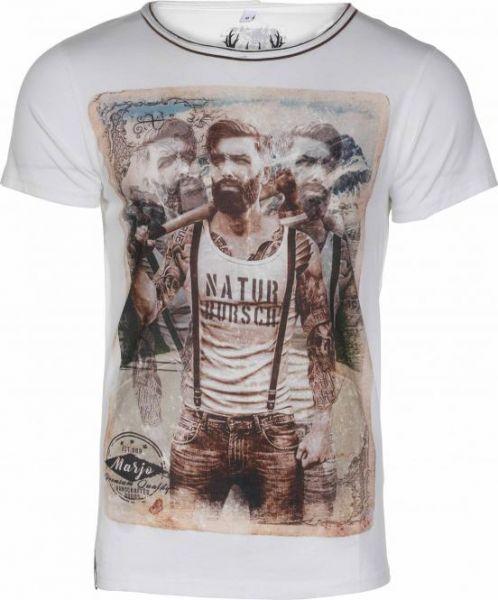 T-Shirt Martin, weiß