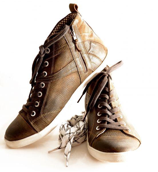Spieth&Wensky, Herren Sneaker Julian, rustik/braun