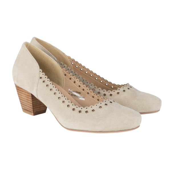 Hirschkogel, Damen Pumps, taupe