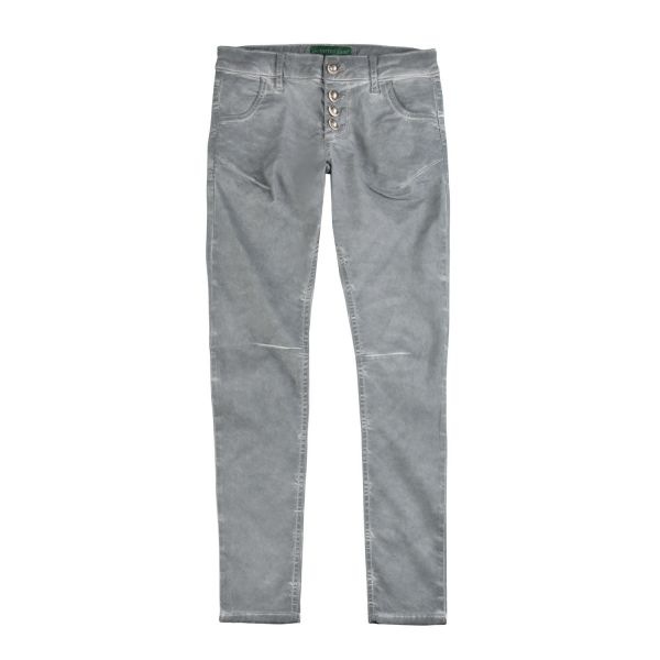 Country Line, Damen Jeans, grau