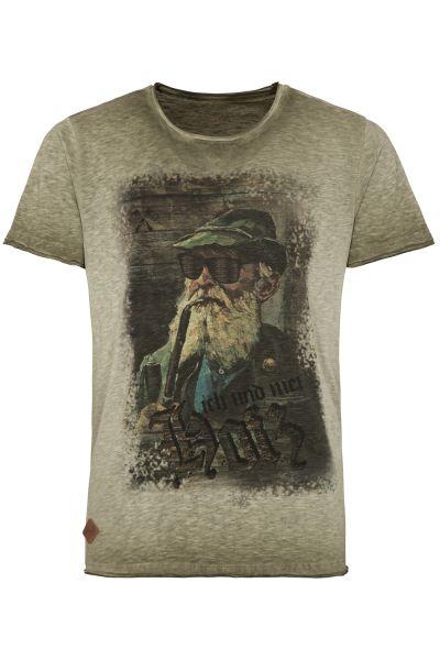 T-Shirt Fritz, oliv