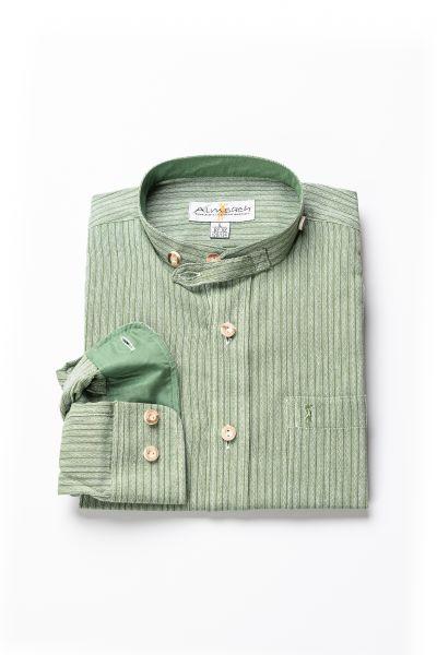 Kinder Hemd Luis langarm, grün