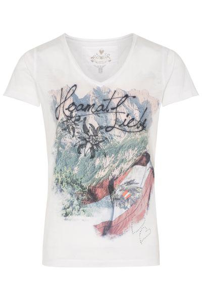 T-Shirt Sigrid Austria, offwhite