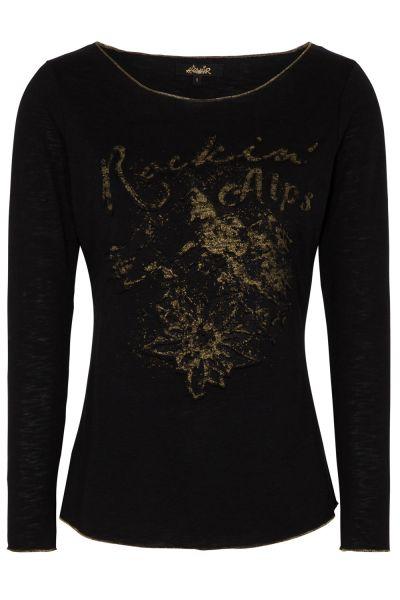 T-Shirt Hanka, schwarz