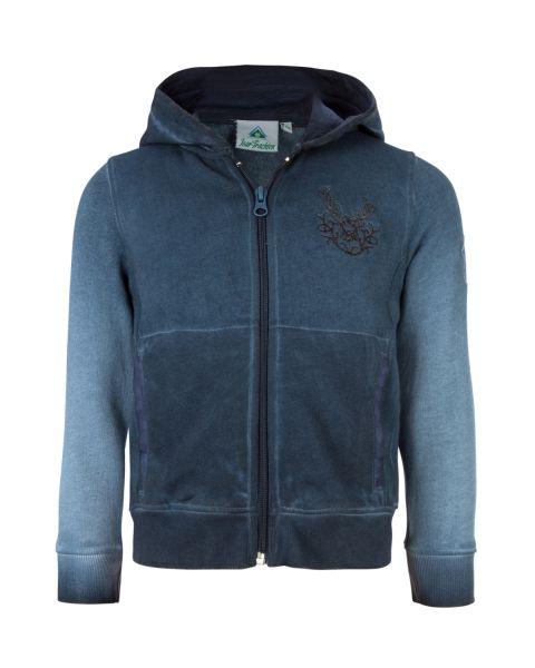 Isar-Trachten, Kinder Sweater, blau