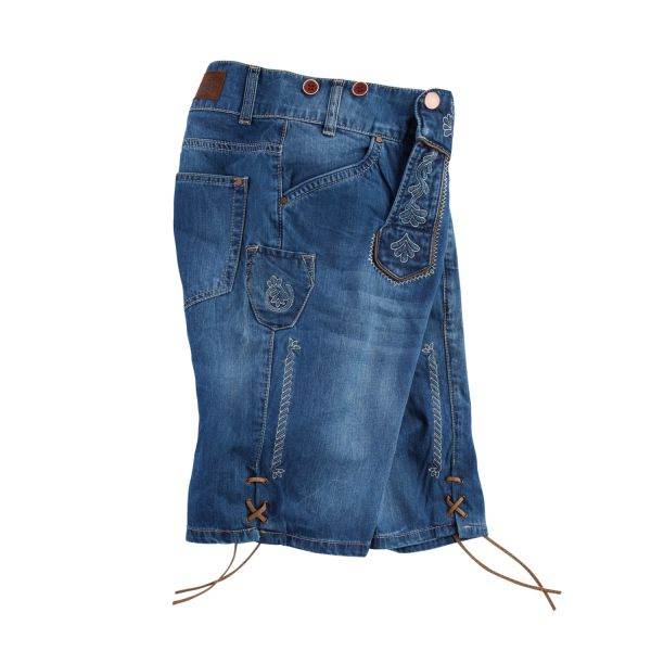 MarJo, Herren Jeans Short, blau