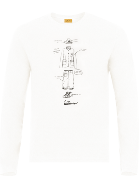 T-Shirt Tarsik, creme