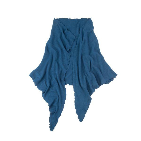 Purset, Damen Poncho, blau