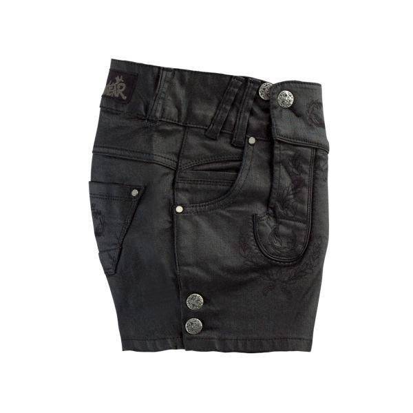 MarJo, Damen Jeans Short, schwarz