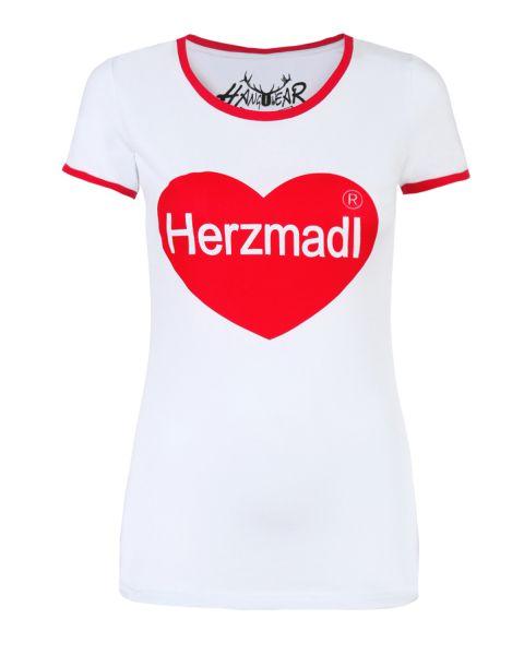 T-Shirt Aberdeen, weiß
