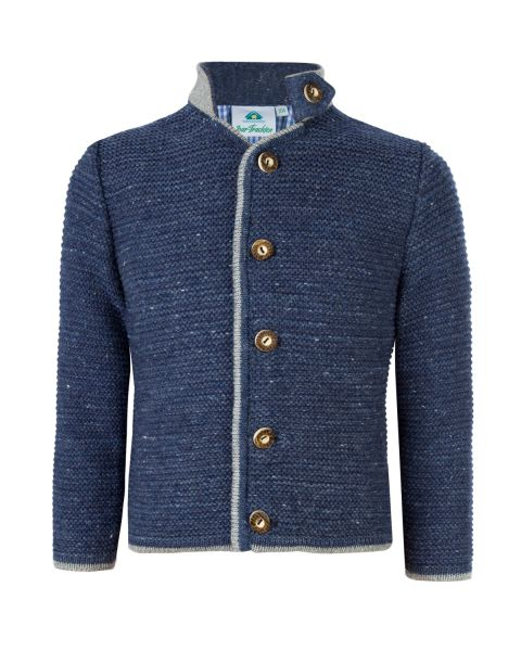 Kinder Strickjacke, blau