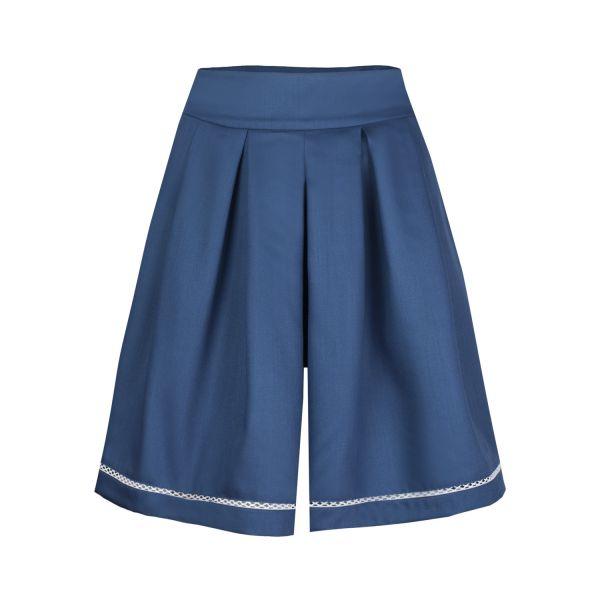 Damen Hosenrock , blau