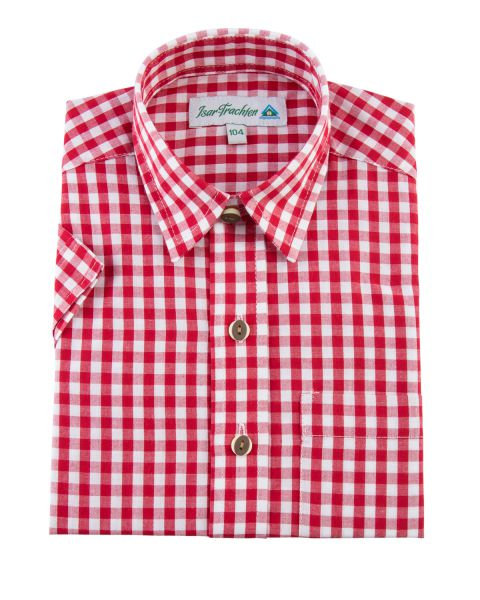 Hemd kurzarm, rot