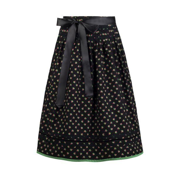 Anno Domini Design, Damen Wicklrock Lena 70cm, schwarz