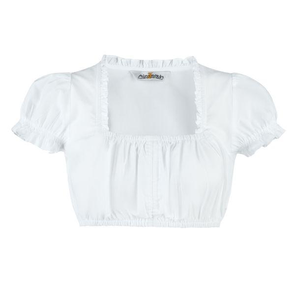 Almsach, Damen Dirndl Bluse, weiß