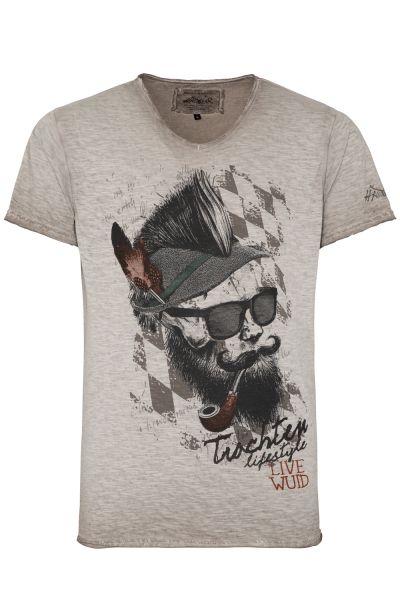 T-Shirt Franzl, beige