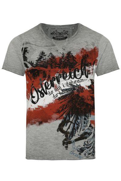 T-Shirt Siggi Austria, grau