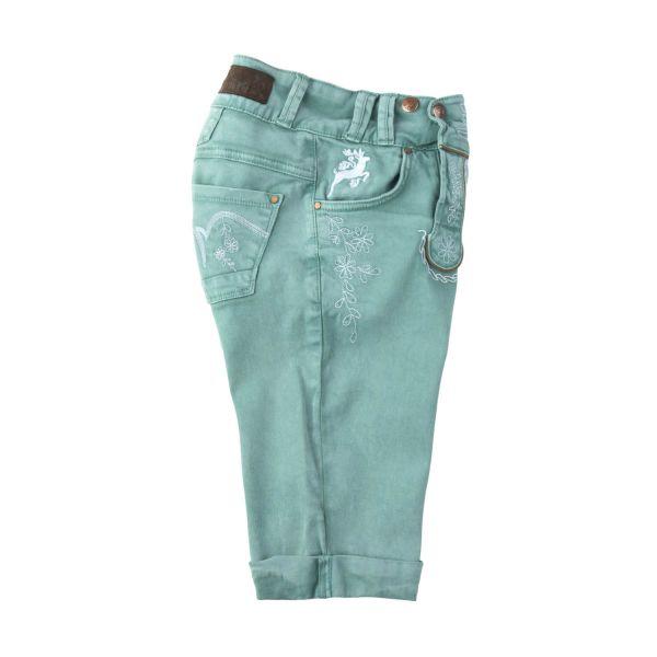 MarJo, Damen Bermuda Color, grün