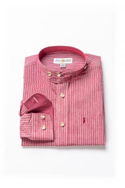 Kinder Hemd Luis langarm, rot
