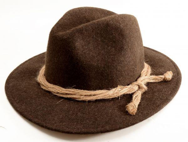 Kübl Hüte, Herren Trachtenhut Outlander, braun