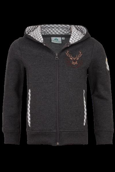 Sweater Hirsch, anthrazit