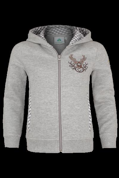 Sweater Hirsch, grau