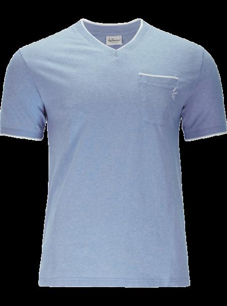 T-Shirt Chase, himmelblau