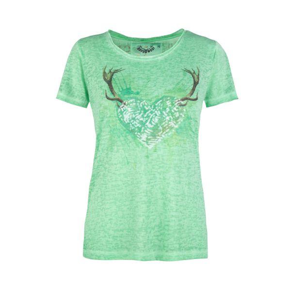 MarJo, Damen T-Shirt Doreen, grün