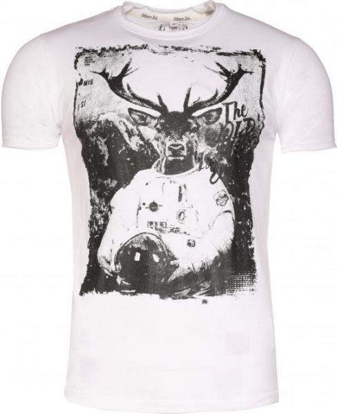 T-Shirt Woid, weiß