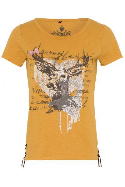 T-Shirt Letizia, senf