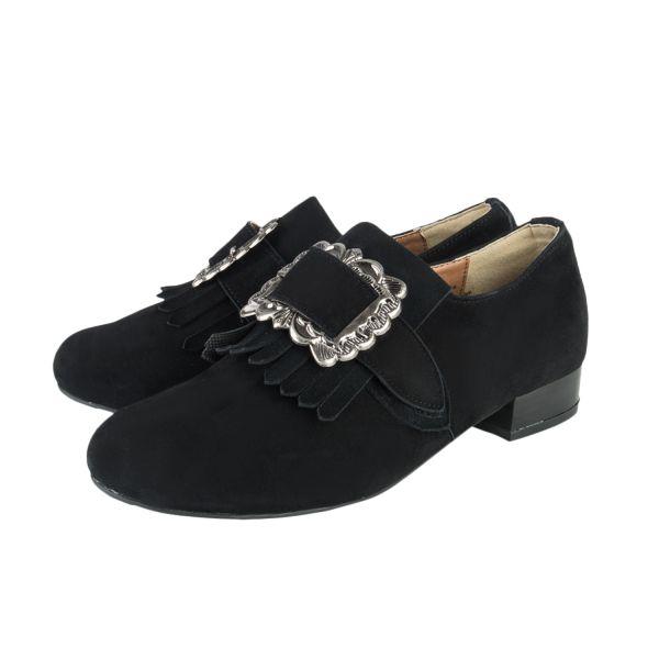 Esagano-Schuhe, Damen Schuh, schwarz