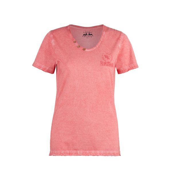 Wiesenkönig, Damen T-Shirt Fritzi, peach