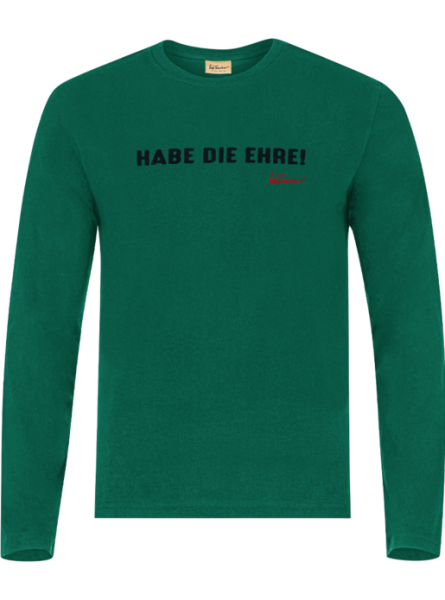 T-Shirt Habe die Ehre, grün