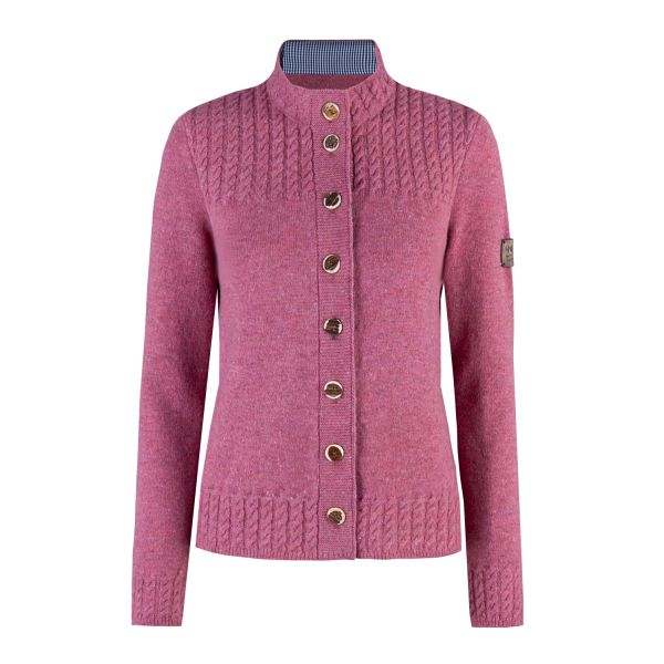 2964 Garmisch, Damen Strickjacke, rosa
