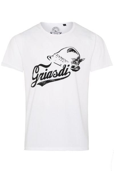 T-Shirt Simmal, weiß