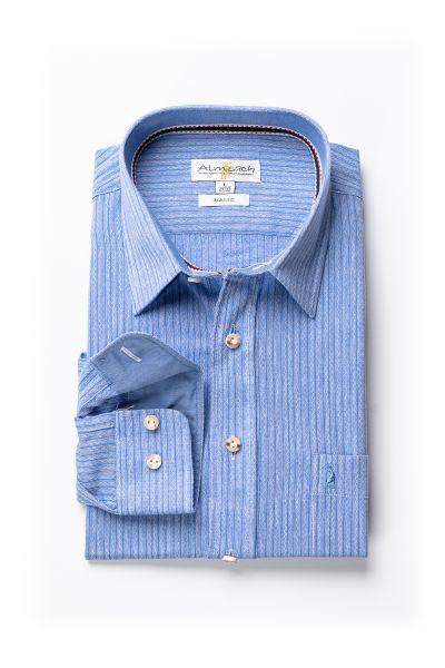 Hemd Manuel regular fit, blau