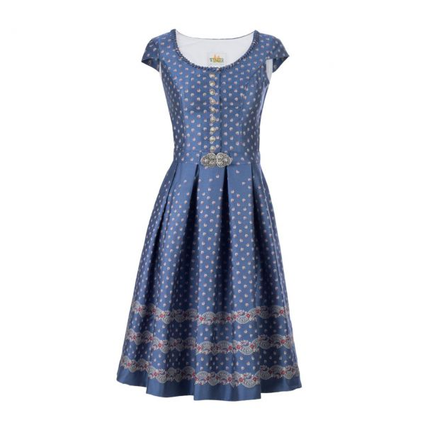 Wenger Damen Kleid Dorthe 65cm blau