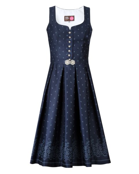 Damen Kleid Ella 65cm, dunkelblau