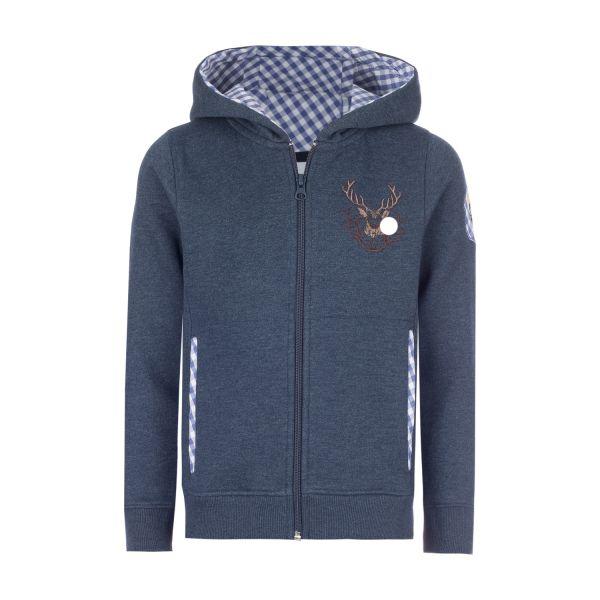 Sweater Hirsch, blau