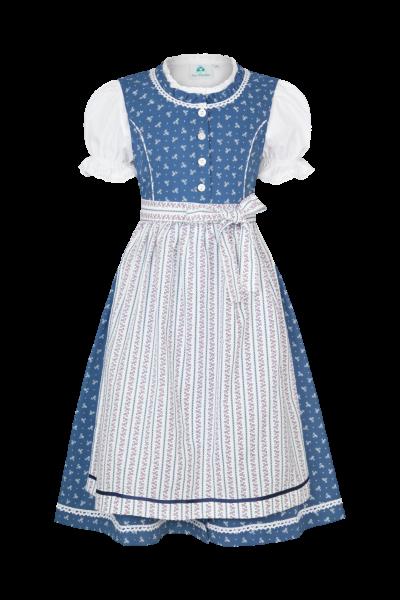 Dirndl Nora, blau