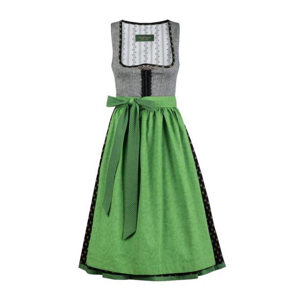 Anno Domini Design Damen Dirndl Anastasia 70cm grau