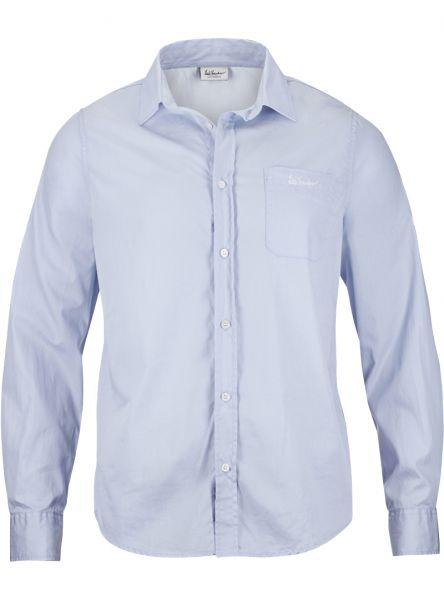 Luis Trenker, Herren Hemd langarm Bodo, hellblau