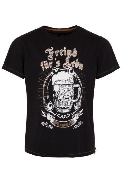 T-Shirt Lothar, schwarz